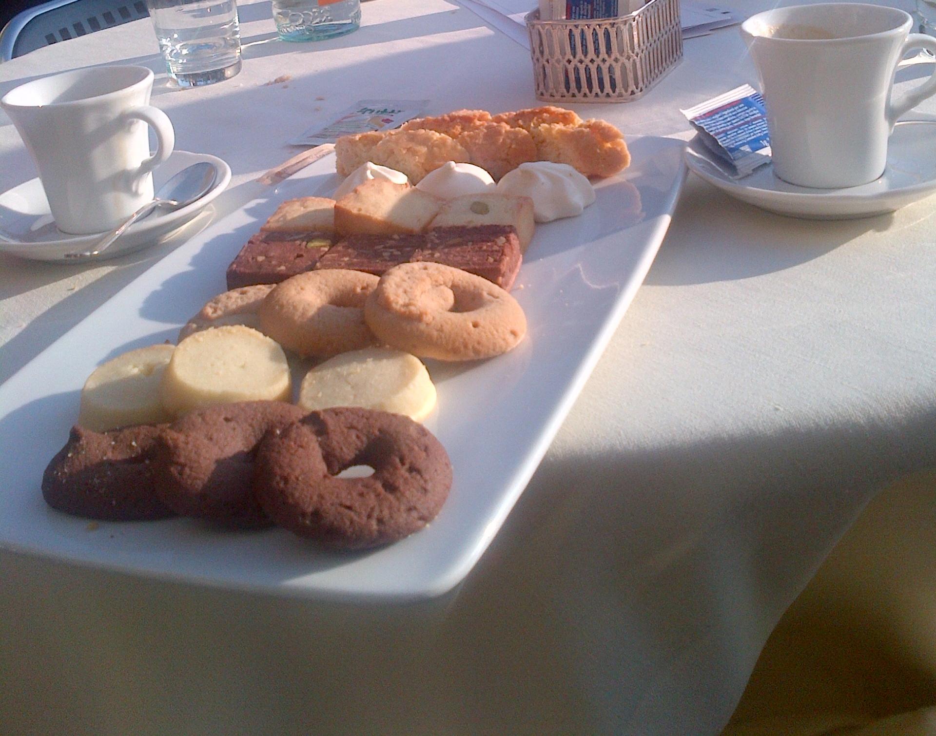Os biscoitinhos do caf'ezinho