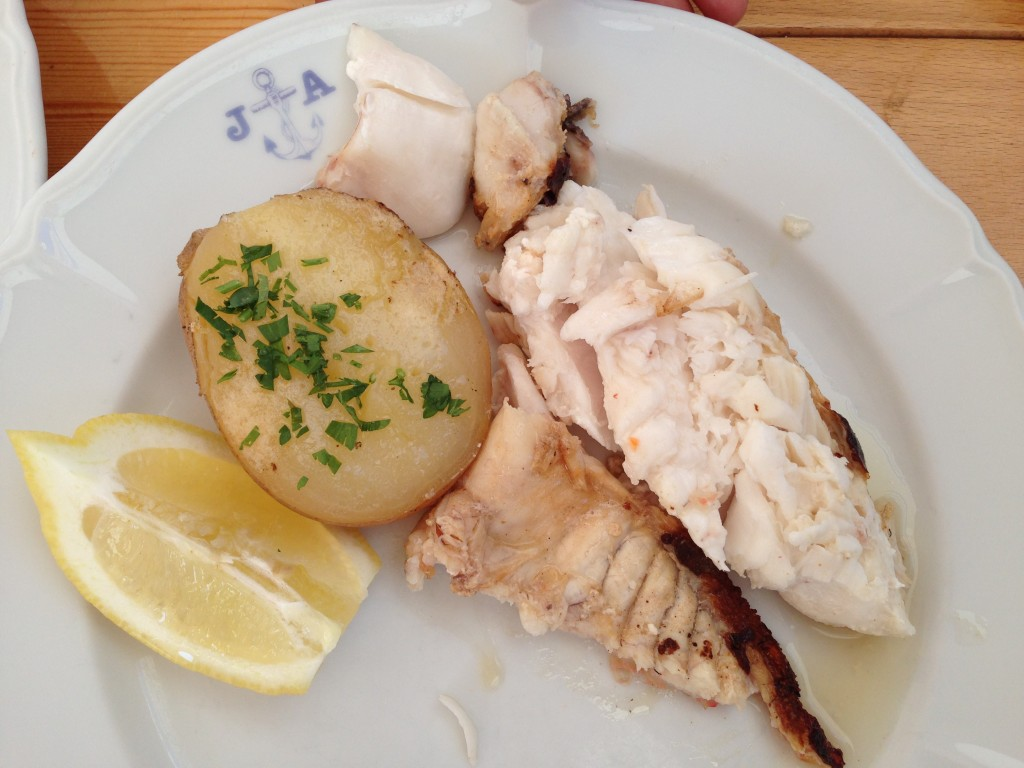 Lubina ( peixinho branco delicioso)